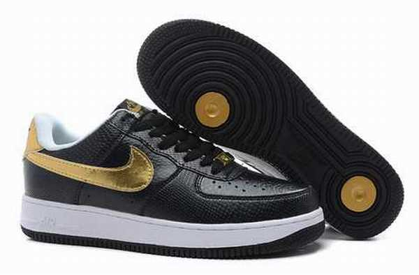 nouvelle arrivee dd552 3e75a air force one chaussure noir compense,Air Force One baskets ...