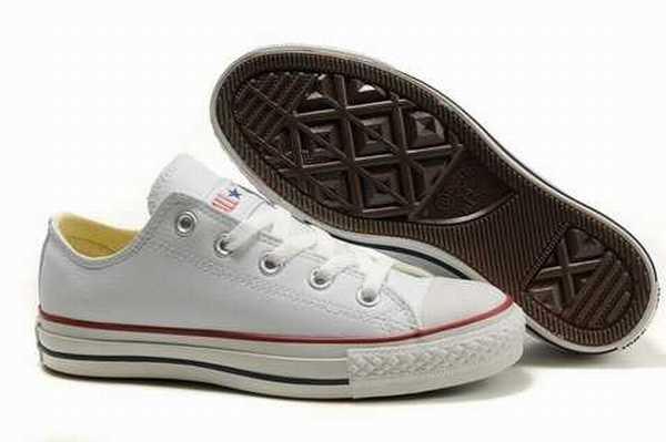 Cdiscount Chaussure Converse Noir Cuir chaussure Enfant 435RAjL