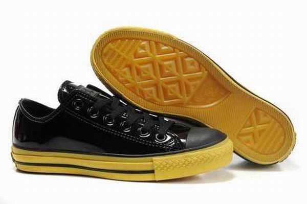 Montante Strasbourg chaussure Chaussure Noir Converse Cuir 1wOwx86q