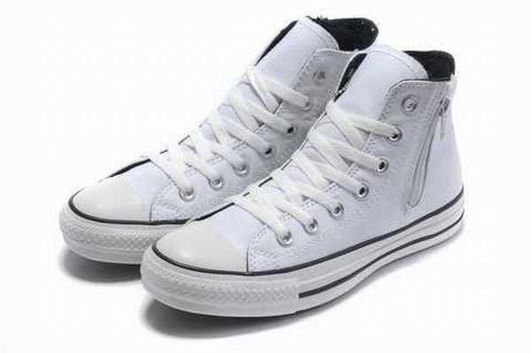 chaussure converse femme blanche